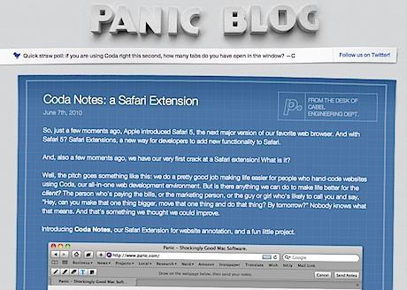 Le blog de Panic