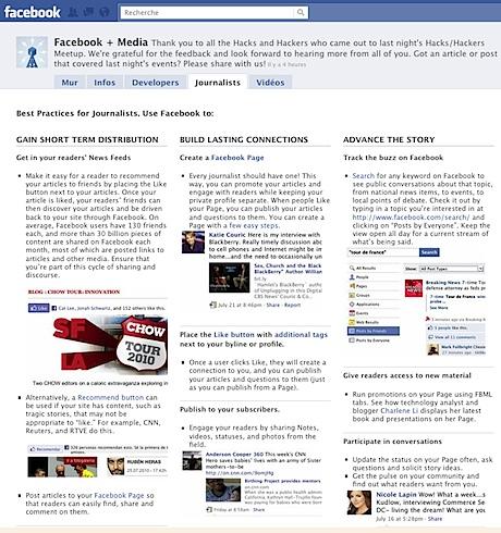 Facebook + Media