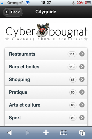 Cyberbougnat mobile