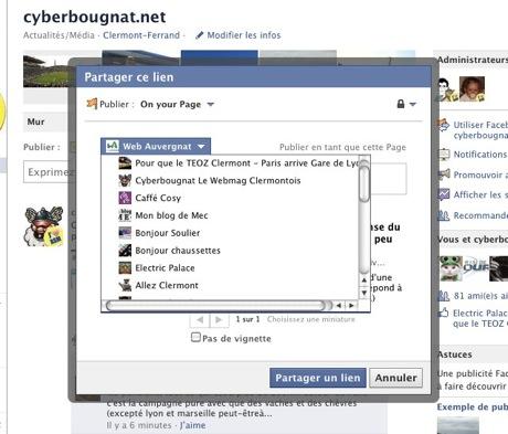 Facebook partage 3