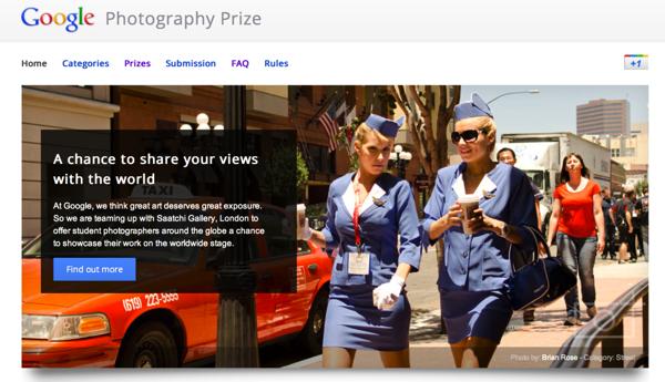 Concours photo google