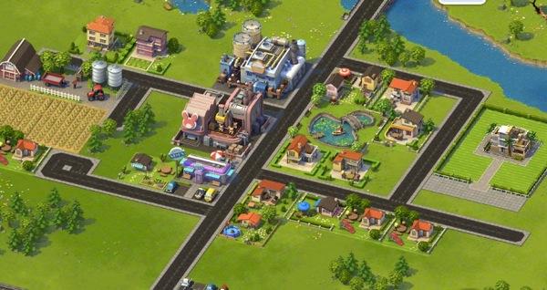 SimCity Social sur Facebook