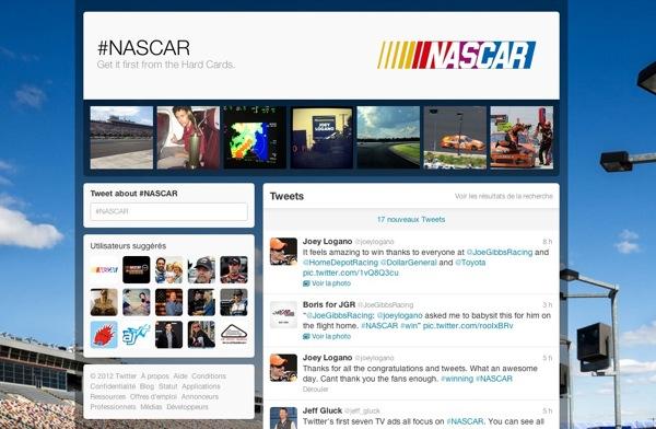 Twitter NASCAR