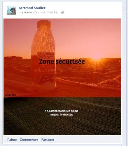 Essai calage facebook colonne