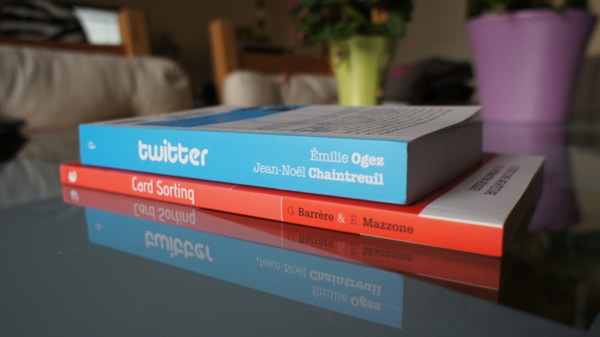 Livres twitter card sorting