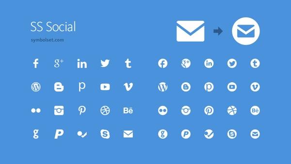 Symbol Set SS Social