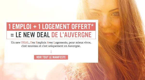 Auvergne New Deal