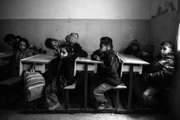 Une école cachée à Alep