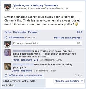 Concours facebook cyberbougnat